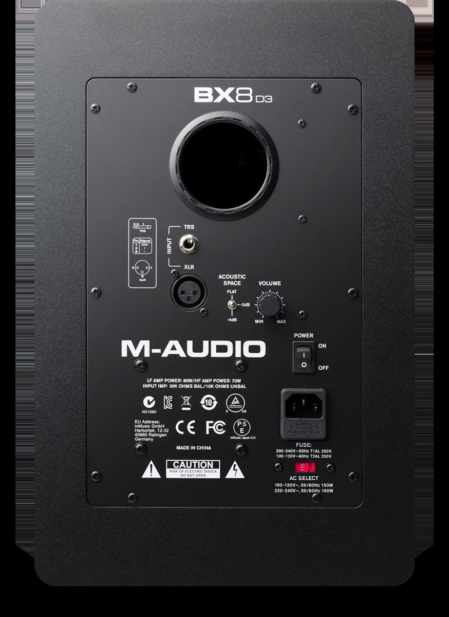 M-Audio M Audio Bx A Wiring Diagram on