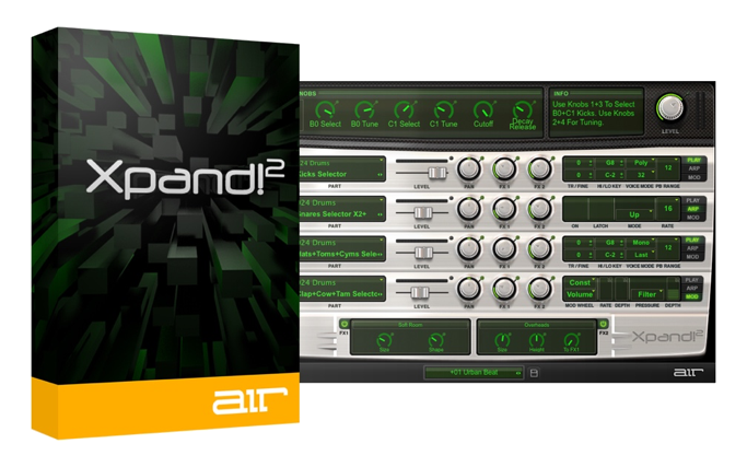 AIR Music Technology Xpand!2