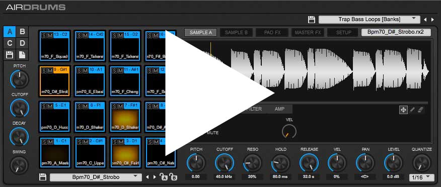 AIR Drums Screenshot