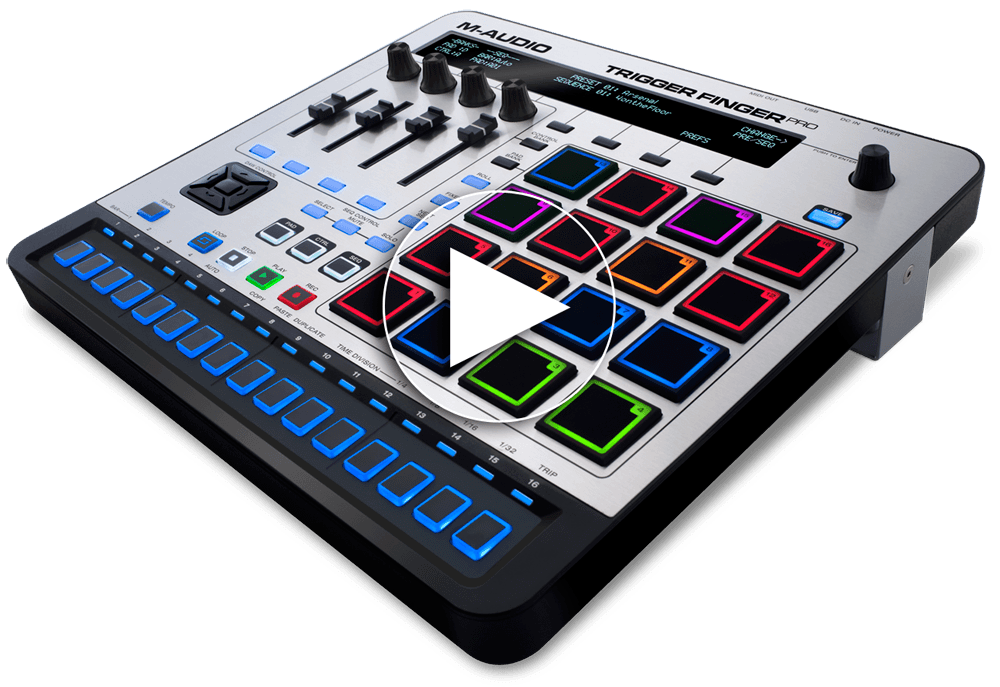 M Audio Trigger Finger Pro Usb Pad Controller With Step